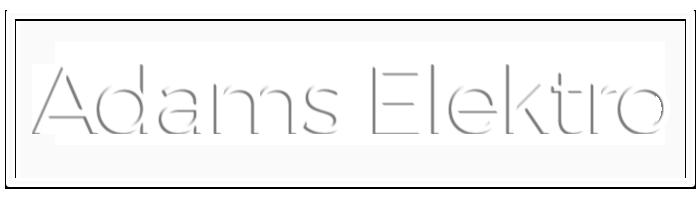 Adams Elektro elektriciteit aalter